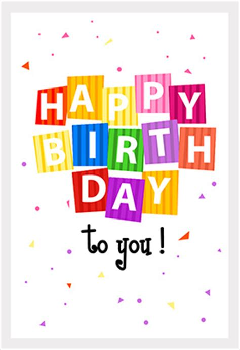 how to print a birthday card free template free printable happy birthday cards images and pictures