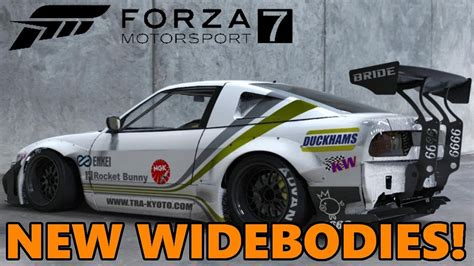 widebody jdm cars forza motorsport 7 widebody kits confirmed jdm