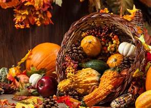 harvest cornucopia decorate with your harvest vegetables garden club