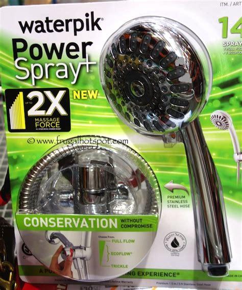 Costco Waterpik Shower by Costco Sale Waterpik Powerspray Shower 29 99