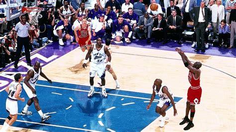 michael jordan 1998 nba finals top nba finals moments michael jordan s jumper seals 1998