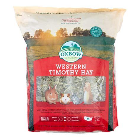 Makanan Kelinci Oxbow Western Timothy Hay oxbow pet products western timothy hay small animal food 90 oz jet