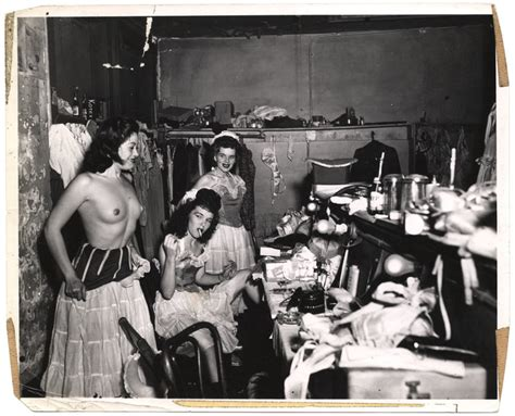 club dressing room showgirls in dressing room at burlesque club new orleans international center of photography