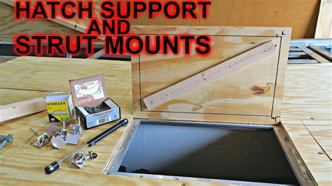 hatch support and strut mounts jon boat to bass boat - Jon Boat Hatch