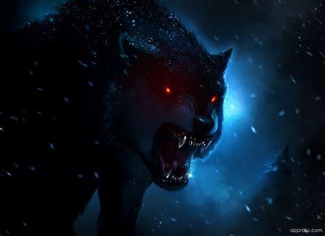 wallpaper dark wolf dark wolf wallpaper download wolf hd wallpaper appraw