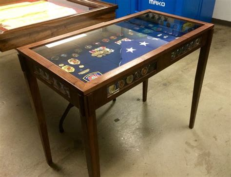 shadow box sofa table military shadow box the coin and shadow box on pinterest