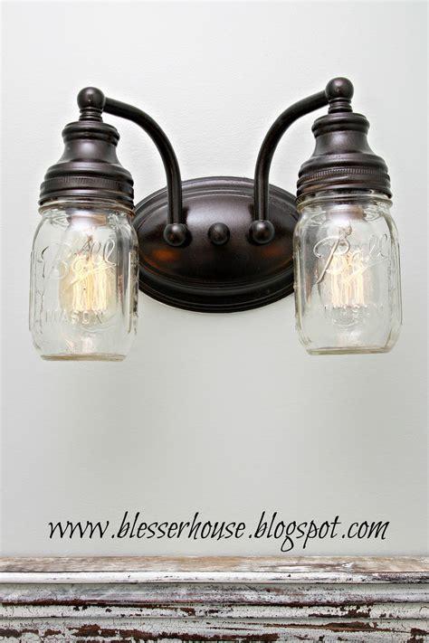 Jar Vanity Light by 16 Awesome Diy Jar Lighting Ideas