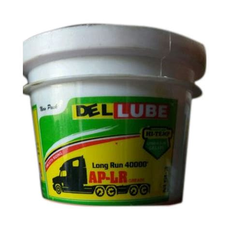 Del Lube Automotive Lubricating Grease Packaging Type