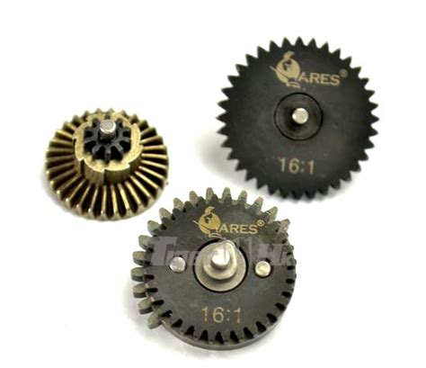 Gear Setgir Set Tiger 1 ares high speed steel 16 1 gear set airsoft tiger111hk area