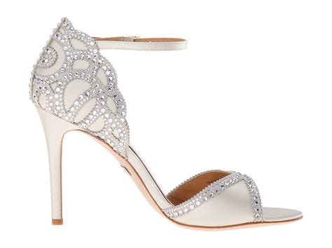 ivory bridal shoes badgley mischka at zappos