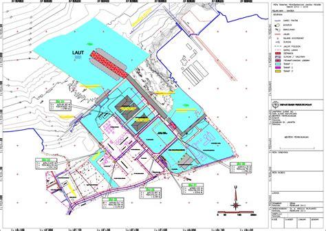 layout pelabuhan makassar master plan pelabuhan ciwandan banten
