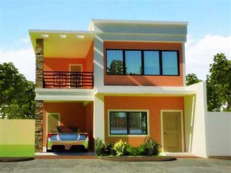 warna cat rumah minimalis terbaru desain rumah