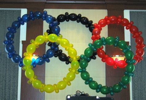 Olympic Decorations by Olympic Themed Summer C Ideas Invitations Ideas