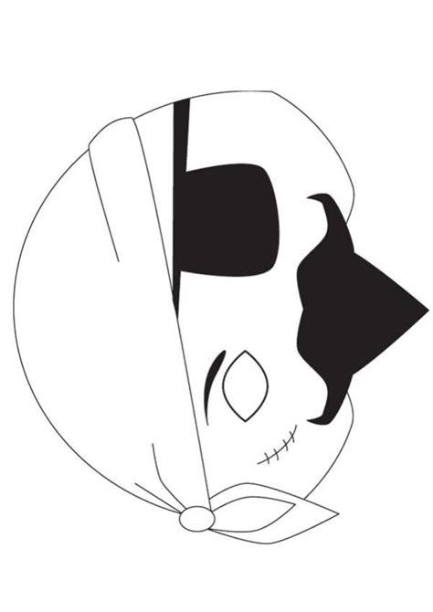 pirate mask template