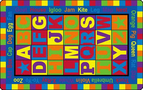 words with rug in them flagship carpets abc words educational rug