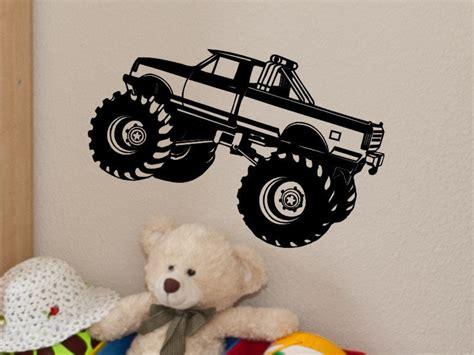 monster truck bedroom monster truck wall decal monster truck wall decor kids bedroom