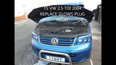 find  replace  glow plug relay    tdi