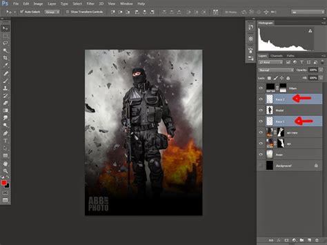 tutorial membuat movie poster membuat poster film photoshop design indonesia