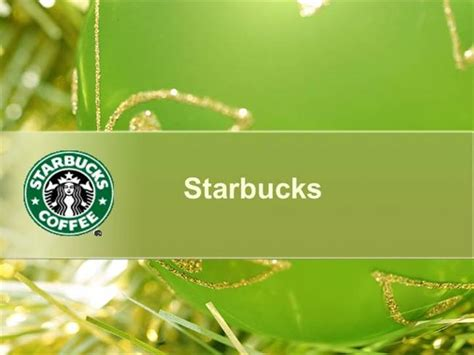 starbucks powerpoint template starbucks authorstream