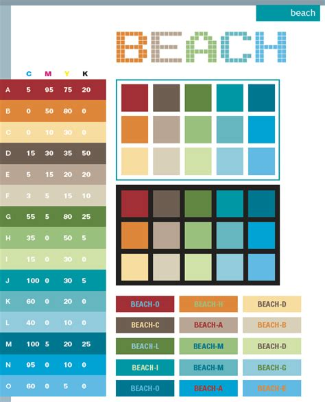 color schemes color combinations color palettes for print cmyk and web rgb html