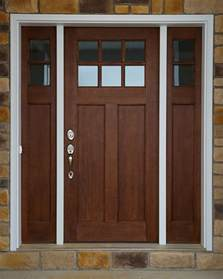 hints on buying craftsman style entry doors interior