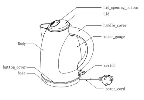 how does a kettle work diagram repair wiring scheme
