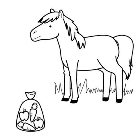 dibujos para colorear caballos caballo dibujo www pixshark com images galleries with