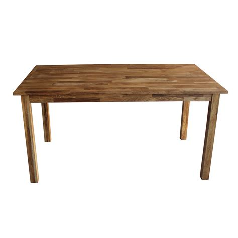 Charles Bentley Solid Oak 6 8 Seater Wooden Dining Table Dining Tables For 8