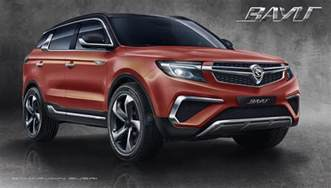 A Proton Has Proton Bayu A Geely Based Suv Design By Mimos