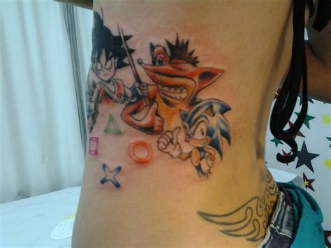 imagenes de goku tatuajes tatuaje dibujos goku sonic play station tatuajes david