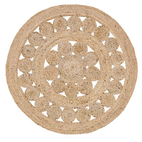 3 foot rugs celeste 3 foot jute rug by vhc brands the patch