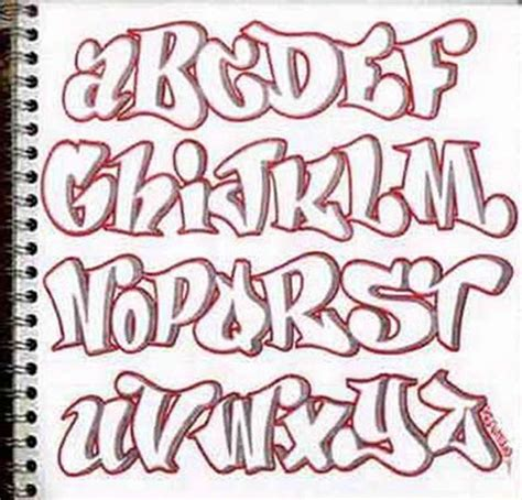 graffiti font journals pinterest