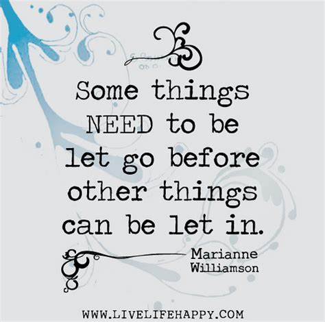 Some Stuff by Some Things Need To Be Let Go Before Other Things Can Be L