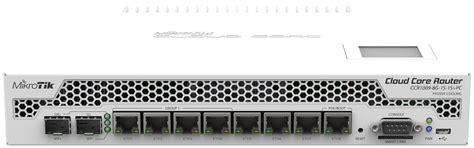 Cloud Router Merupakan Produk Unggulan Baru Dari Mikrotik Yang Me routerboard ccr1009 8g 1s 1s pc