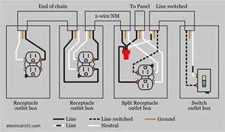 wiring a switched receptacles in series wiring get free image about wiring diagram