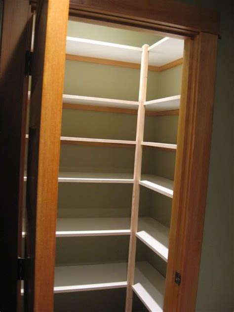 Corner Pantry Shelving by Wood Pantry Shelves Pantry