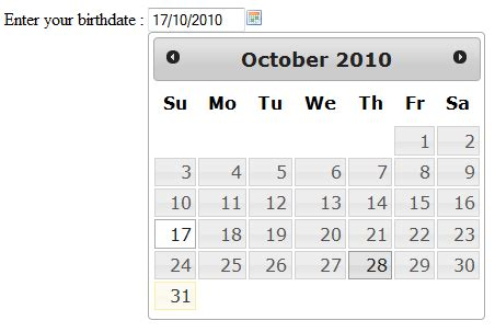 Calendario J Query Creating A Calendar Or Date Picker Using Jquery Edwin S