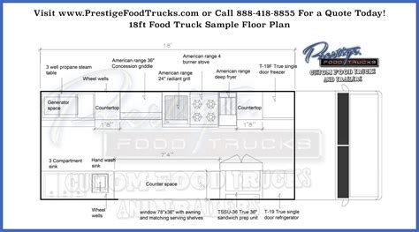 food truck floor plans custom food truck floor plan sles custom food truck