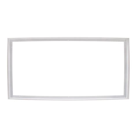 2x4 led flat panel light lumegen 2x4 led panel surface mount