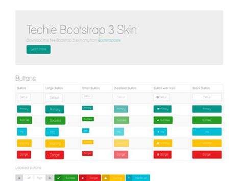 free templates for bootstrap 3 techie free template for bootstrap 3