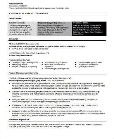 it manager resume exles ideas sle resume for it manager 28 images resume exle retail store