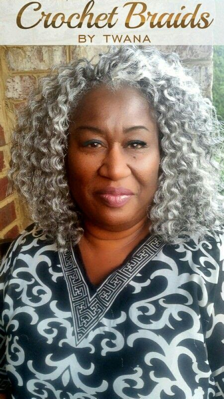 Pictures Of Mature Black Women Wearing Crochet Braids | 65 best crochet braid hairstyles images on pinterest