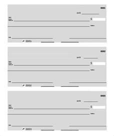 free printable check templates blank check template 30 free word psd pdf vector