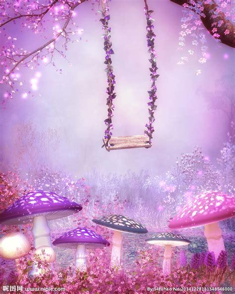 nipic com 紫色梦幻背景高清图片设计图 风景漫画 动漫动画 设计图库 昵图网nipic com