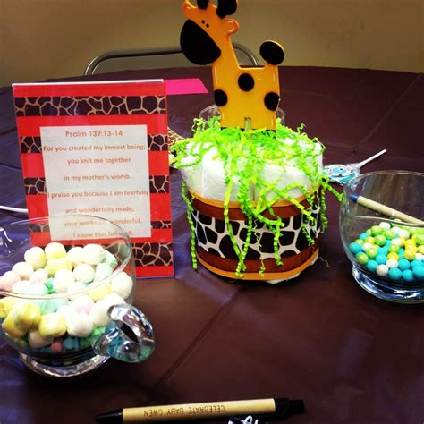 Giraffe Centerpieces For Baby Shower by Giraffe Baby Shower Centerpieces