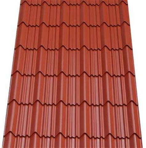 tile type span roofing price cost per sqm of aluminium step tile span and