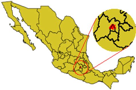map of mexico df mexico df in mexico mapsof net