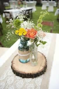 jar table centerpieces show me your jar centerpieces weddingbee