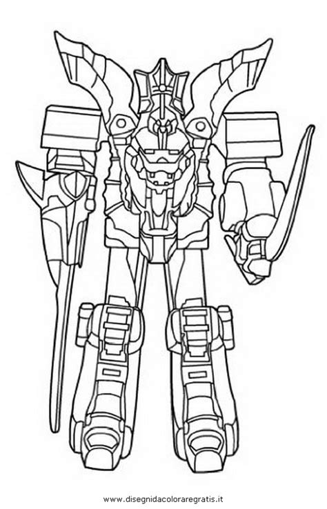 pin samurai megazord colouring pages on pinterest