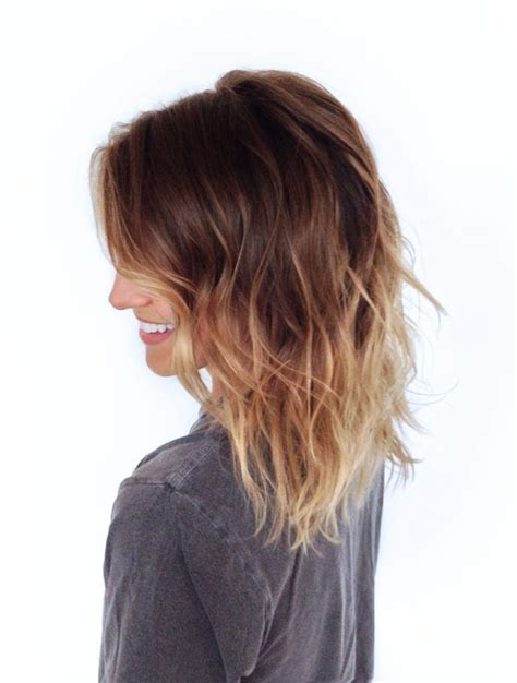 ombre hair for medium length hair 25 best ideas about shoulder length ombre hair on